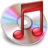 48x48px size png icon of iTunes red
