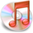 48x48px size png icon of iTunes rood 2
