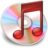 48x48px size png icon of iTunes rood
