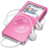 48x48px size png icon of ipod nano pink