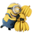 48x48px size png icon of Minion Bananas