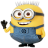 48x48px size png icon of Minion Big