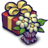 48x48px size png icon of Present Box and Flowers