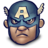 48x48px size png icon of Steve Rogers