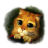 48x48px size png icon of Puss 3