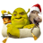 48x48px size png icon of Shrek and Donkey and Puss