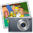 48x48px size png icon of iPhoto simpsons