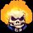 48x48px size png icon of Comics Johnny Blaze
