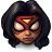 48x48px size png icon of Comics Spiderwoman