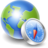 48x48px size png icon of Globe compass