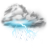 48x48px size png icon of thunder lightning storm