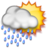 48x48px size png icon of Scattered T-Storms