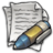 48x48px size png icon of MDI Text Editor