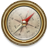 48x48px size png icon of Compass Vintage