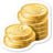 48x48px size png icon of Coins