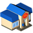 48x48px size png icon of Post office