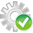 48x48px size png icon of process accept