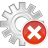 48x48px size png icon of process remove