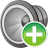 48x48px size png icon of sound on