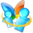48x48px size png icon of Messenger
