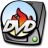 48x48px size png icon of harddrive dvd burner