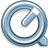 48x48px size png icon of Quicktime