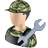 48x48px size png icon of Serviceman