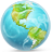 48x48px size png icon of Earth