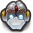 48x48px size png icon of Robo DuckMonkey With Horns
