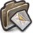 48x48px size png icon of Envelopes With Yellow Checks Inside