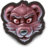 48x48px size png icon of Lonem, The Flamboyantly Angry Bear Tiger Hybrid