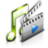 48x48px size png icon of Multimedia