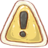 48x48px size png icon of Hp caution