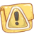 48x48px size png icon of Hp folder caution
