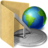 48x48px size png icon of folder url history