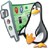 48x48px size png icon of Linux conf