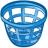 48x48px size png icon of trash basket