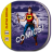 48x48px size png icon of comic book
