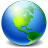 48x48px size png icon of Network Earth