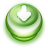 48x48px size png icon of Button Green Arrow Down