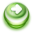 48x48px size png icon of Button Green Arrow Right