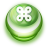 48x48px size png icon of Button Green Commandkey