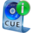48x48px size png icon of CUE File