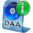 48x48px size png icon of DAA File