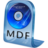 48x48px size png icon of MDF File