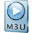 48x48px size png icon of M3U File
