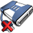 48x48px size png icon of Network Drive Offline