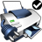 48x48px size png icon of Printer Default Network