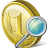 48x48px size png icon of coin search
