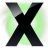 48x48px size png icon of X Circle Green